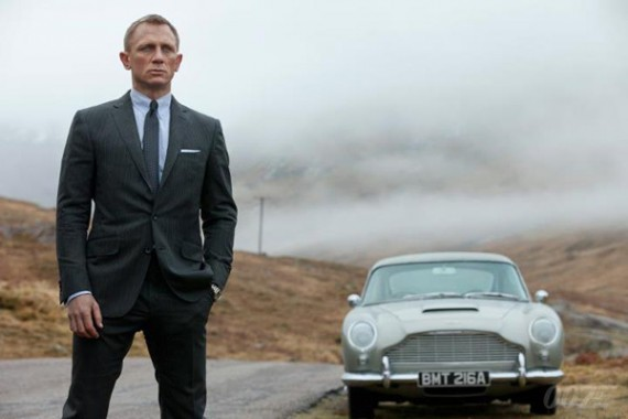 James Bond nunca erra!