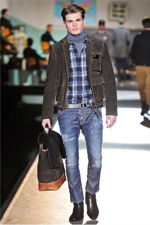look_certo_gola_alta_jeans_xadrez