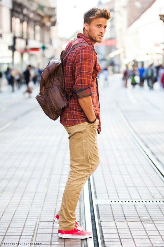 Dicas para usar tênis vermelho masculino (6)