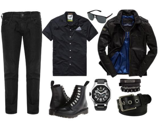 jeans_preto_look_rocker_casual