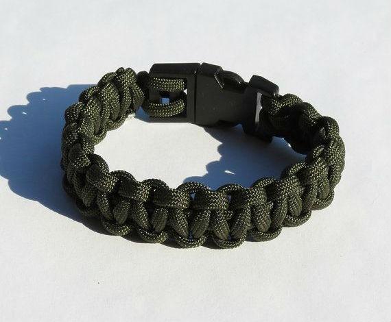 moda-masculina-militar-pulseira-bracelete