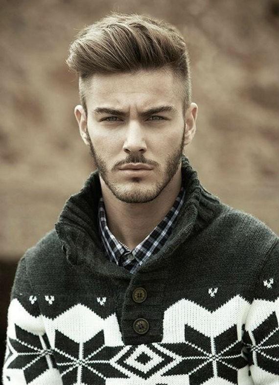 Cortes de cabelo masculinos para 2016: Pompadour