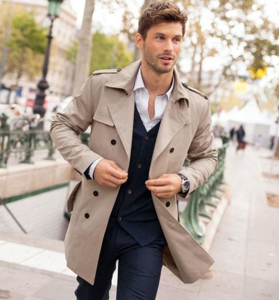 Quais São os Tipos de Casacos Masculinos? - Trench Coat