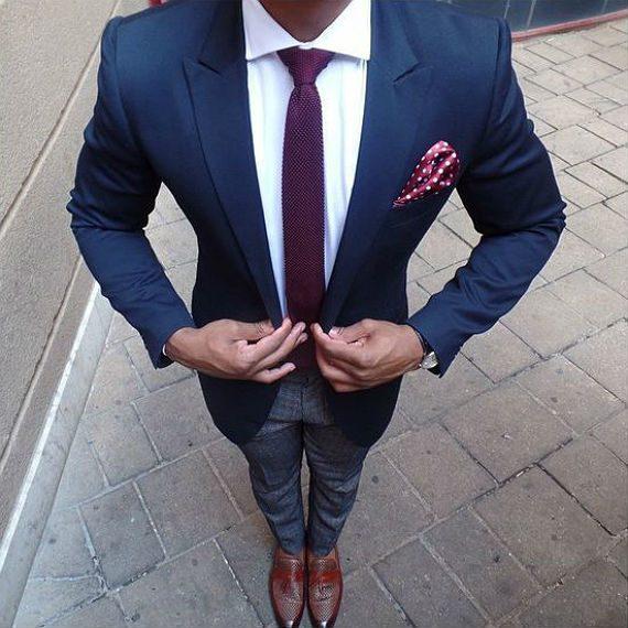 Estilo para homens muito magros - roupas estruturadas