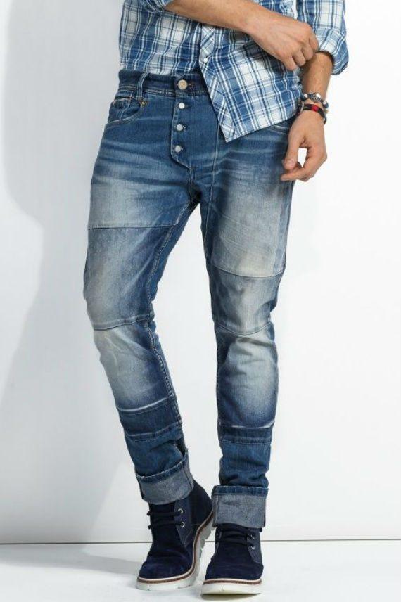 Estilo para homens muito magros - jeans