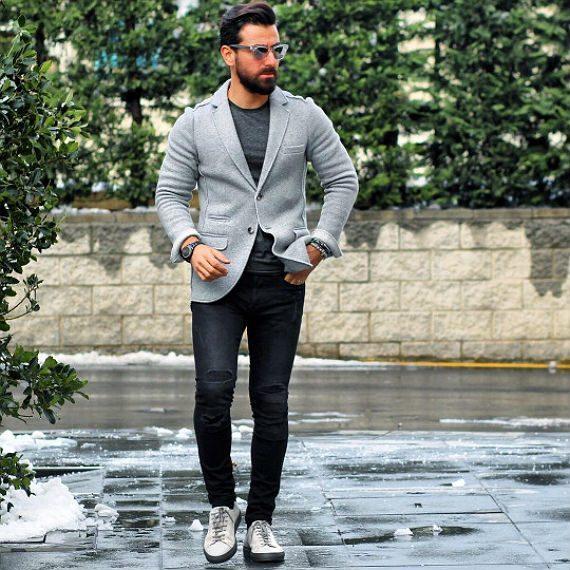 O Look Certo: Casual Com Blazer de Moletom