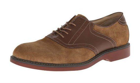 Sapato Brogue - Saddle Shoe ou Saddle Oxford