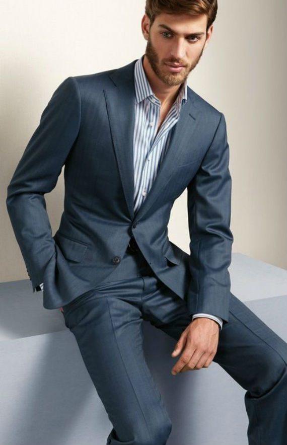 6 Looks Masculinos Com a Mesma Camisa Social Listrada