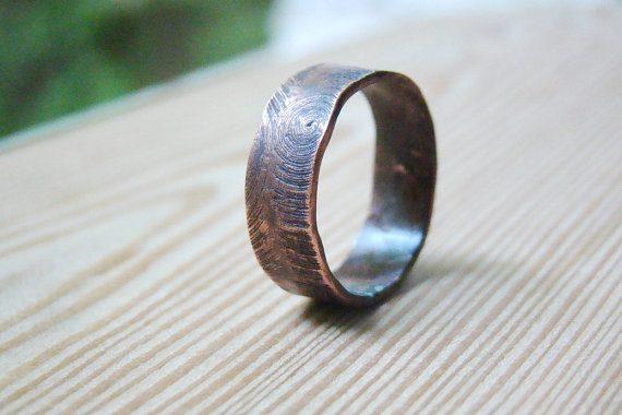 Anéis Masculinos Para Comprar Pela Internet - Anel Rústico