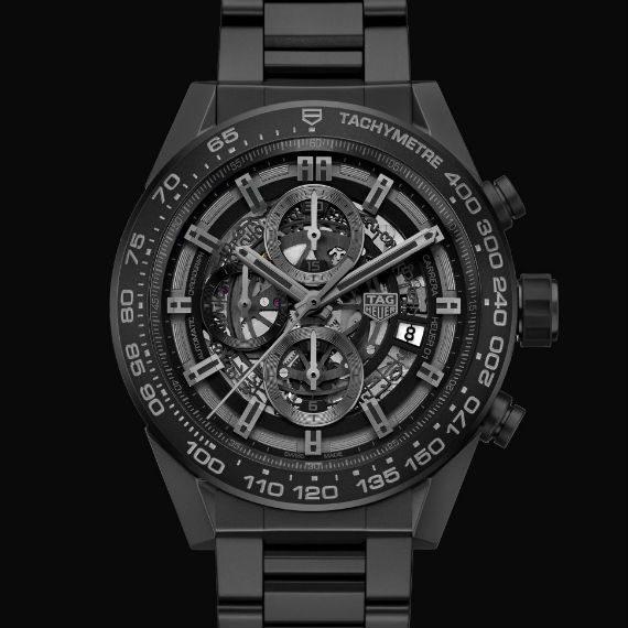 Carrera HEUER-01 Cerâmica All Black