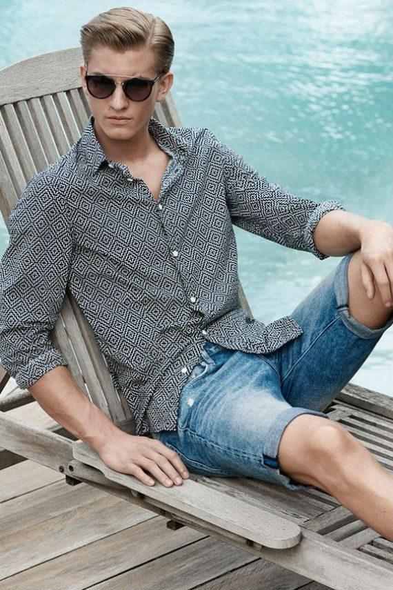 O Look Certo: Foco na Camisa Com Estampa Geométrica