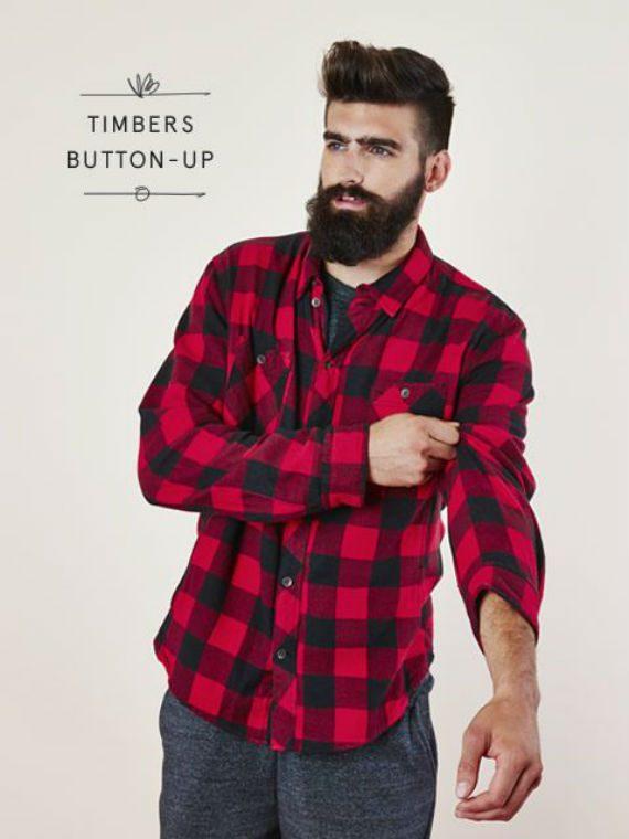 xadrez lenhador - camisa
