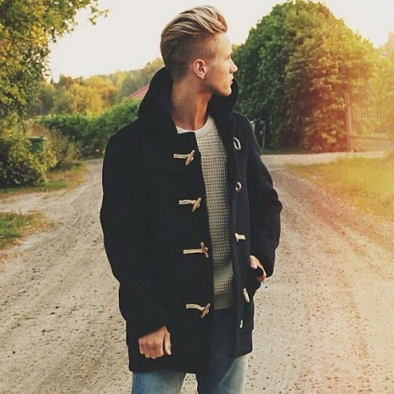 O Look Certo: Duffle Coat, Tricô e Jeans