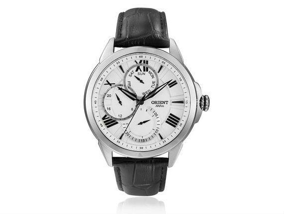 Relógio Orient Clássico Pulseira de Couro