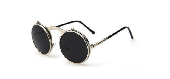 Óculos Andy Roll de Aço Steam Modern Prata