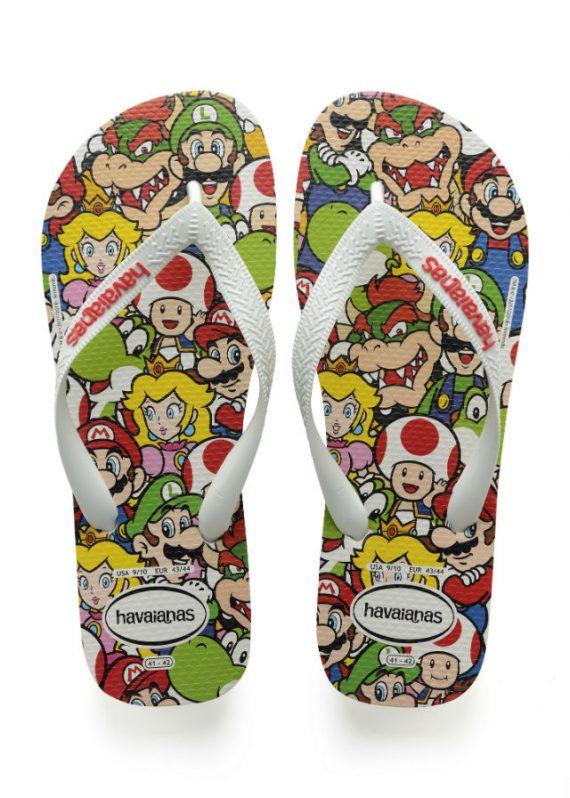 Havaianas e Nintendo Lança Coleção Mario Bros.