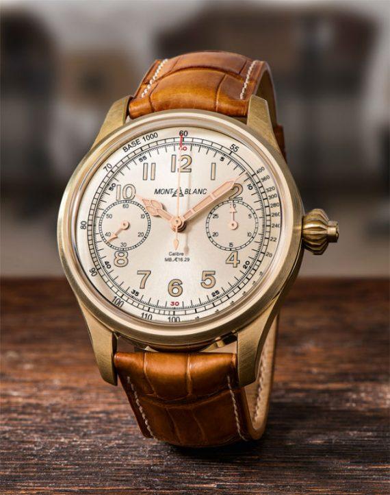 Coleção de Relógios Montblanc 1858 - Minerva
