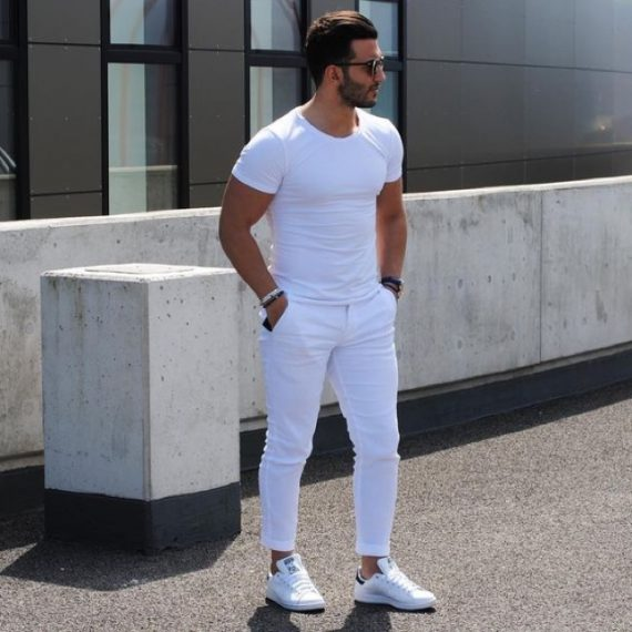 Tendências da Moda Masculina Para Evitar - All White