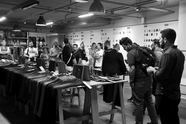 Convidados no showrrom da Levi's conhecendo as novidades de 2019- Evento Lab Levi's