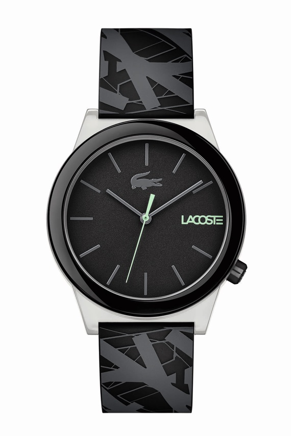 Lacoste Lança Relógios da Motion Collection - Luminescence Preto
