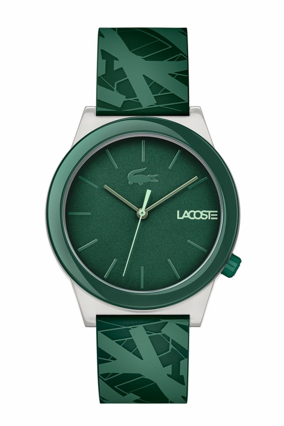 Lacoste Lança Relógios da Motion Collection - Luminescence Verde