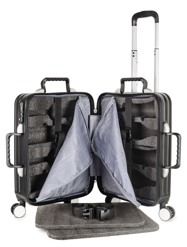 Mala de Viagem Para Transportar Garrafas de Vinho
