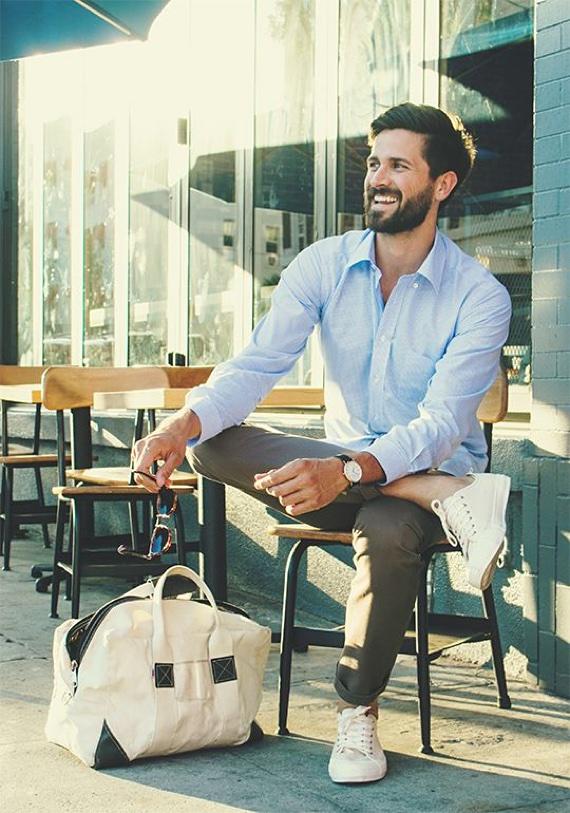 Camisas Azuis que Você pode Ter em Seu Guarda-Roupas