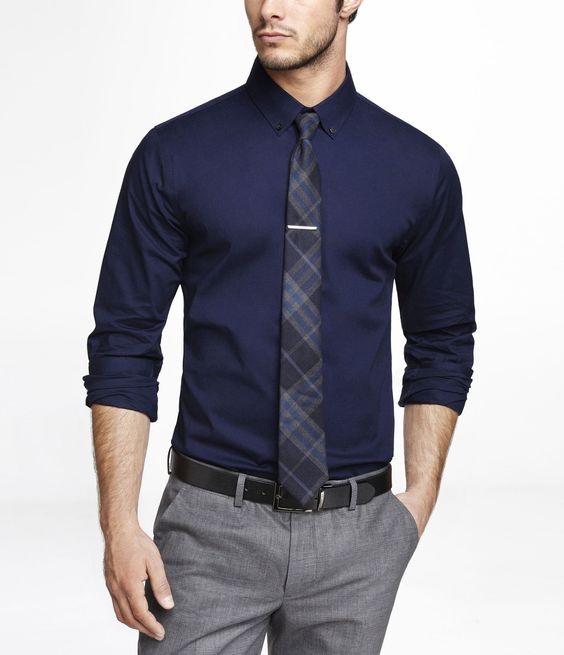 Como combinar camisa e gravata em looks para trabalho sem blazer ou paletó